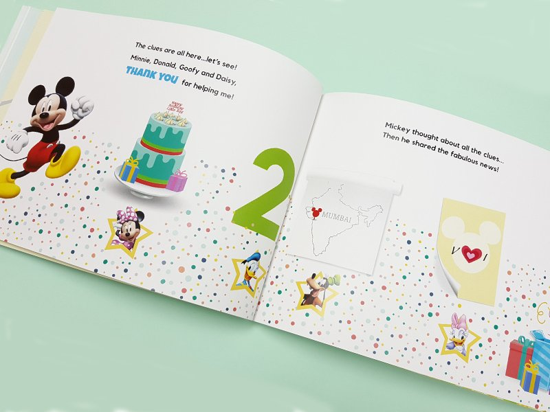 personalised book for family