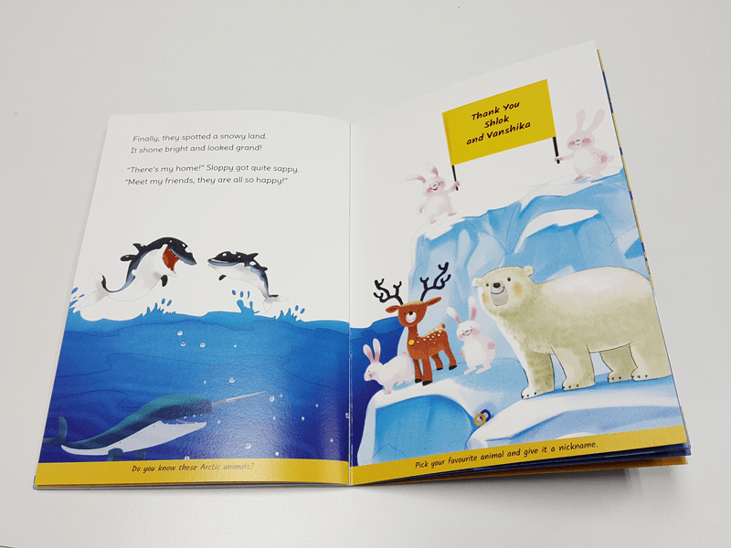 personalised book for birthday party